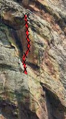 Red Arete Pitch 4